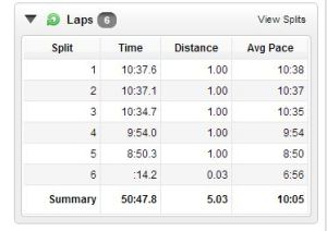 Pacers St. Patrick's Day 8K Splits